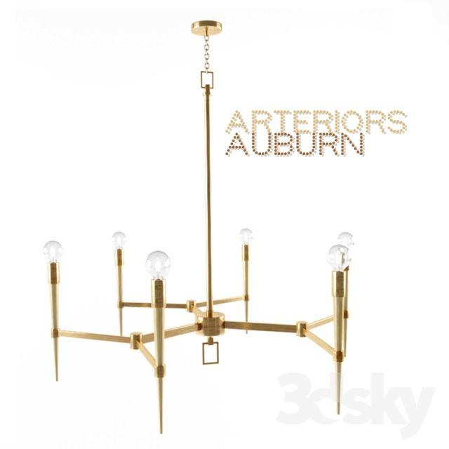 Arteriors auburn chandelier