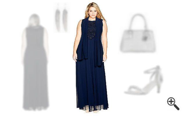 festliche kleider in xxl nadine suchte ein http www. Black Bedroom Furniture Sets. Home Design Ideas