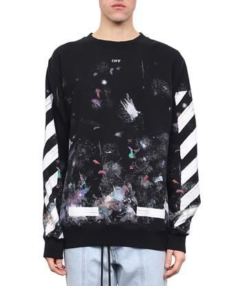 89874e31dc9f OFF-WHITE Galaxy Brushed cotton sweatshirt.  off-white  cloth ...