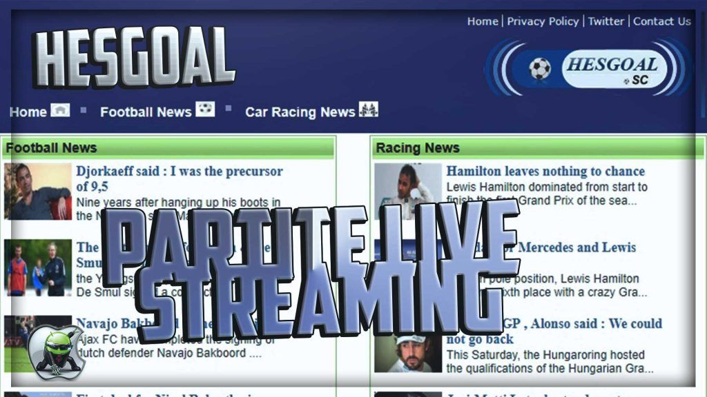 Hesgoal Com Streaming Live Partite Di Calcio Ziojack Org Nel 2020 Calcio Motogp Live