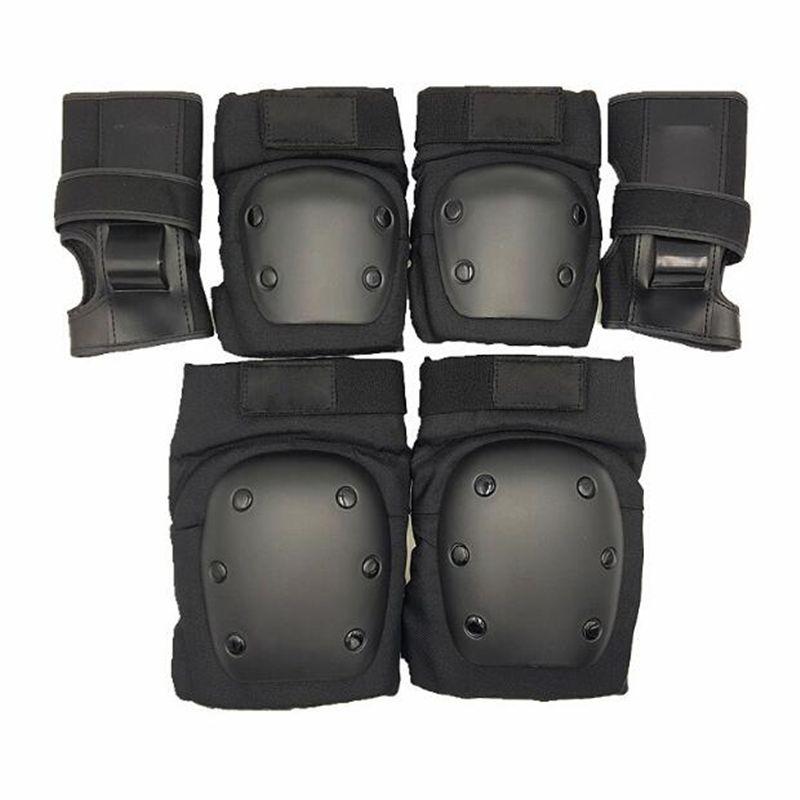 6pads outdoor sports elbow wrist knee pad inline skates