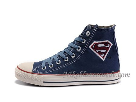 ad73cfd37225c0 Converse Chuck Taylor All Star Superman Shoes Demin Blue  95