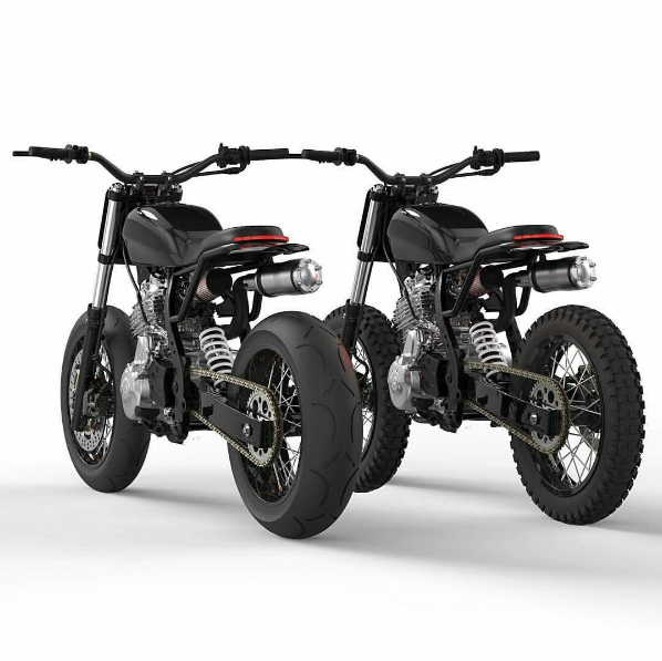 Saint Motors By Dab Design Converting Street Dirt Bike Tracker