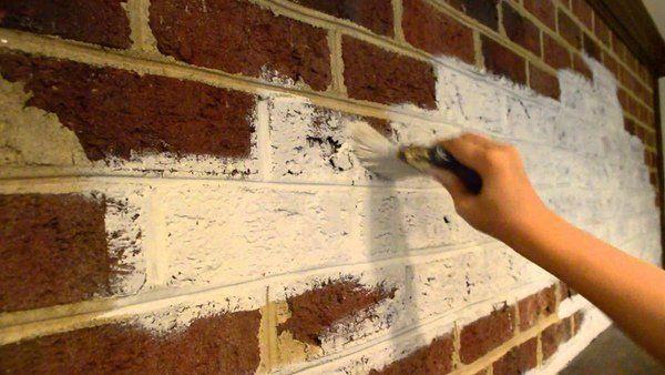 how to whitewash brick fireplace tips ideas instructions brick walls ...