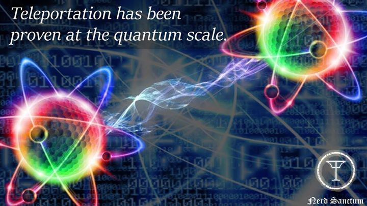 Quantum Teleportation has changed what we think of as science fiction and science fact!  Learn MORE: http://percentcalculator.com/interesting-facts/teleportation-is-science-fact