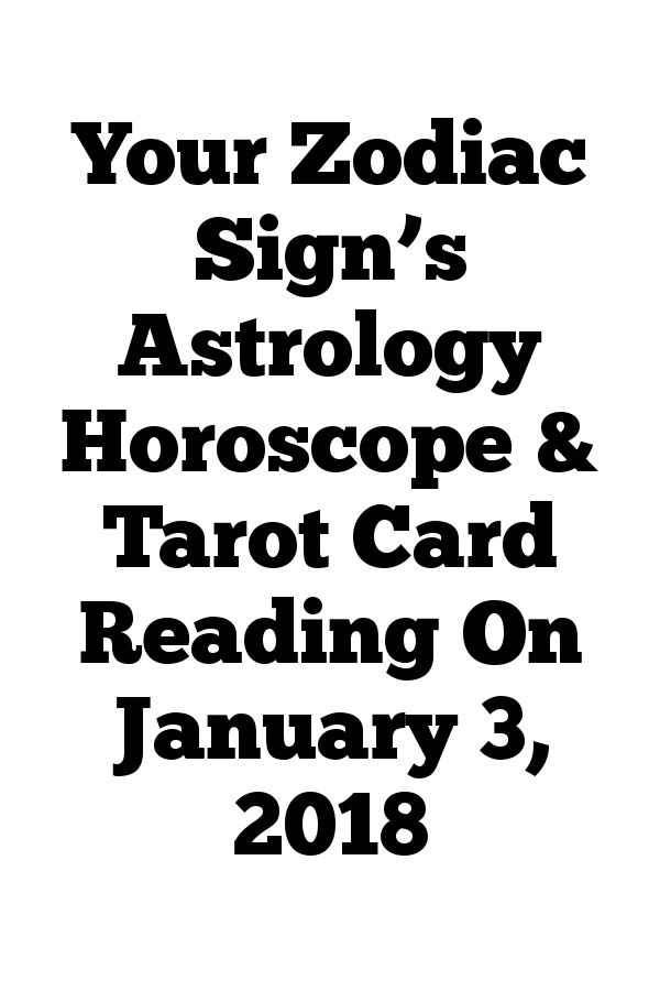 pisces january 3 horoscope