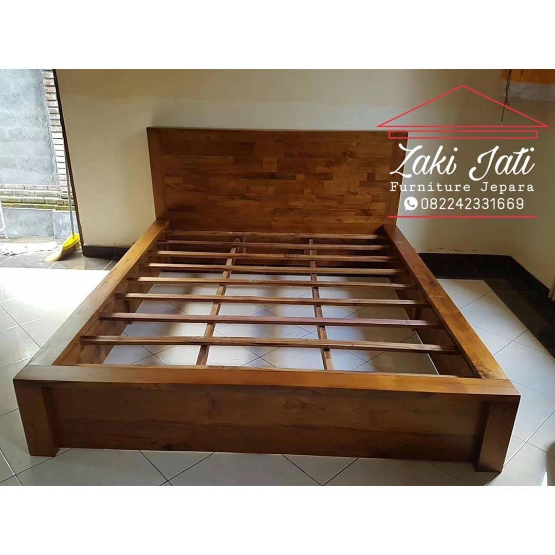 Menjual Tempat Tidur Minimalis Jati Furniture Jepara Berkualitas