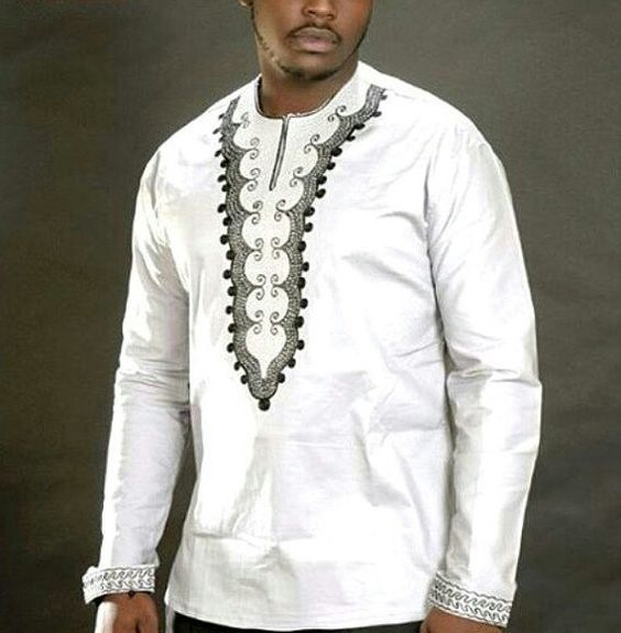 chemise brod e color hommes chemise broderie chemise africaine jolomie design pour hommes. Black Bedroom Furniture Sets. Home Design Ideas