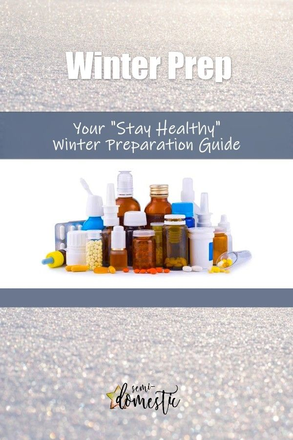 "Photo of Your ""Stay Healthy"" Winter Preparation Guide 