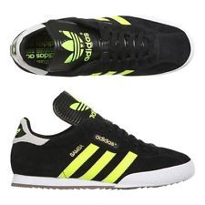 hot products high quality official images Adidas Samba Super Size 11 UK Black/ Electric Yellow/ White ...