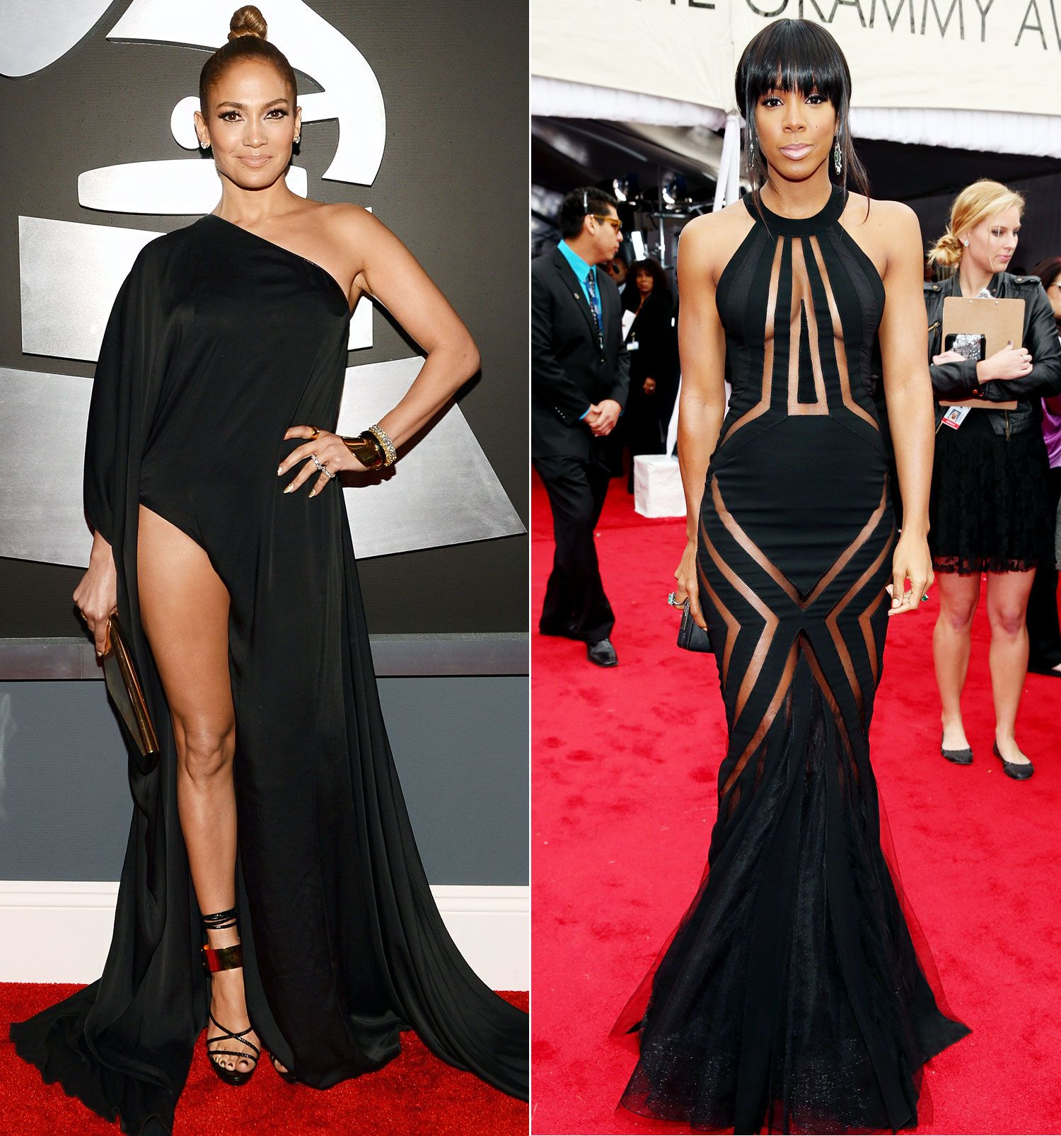 Grammy Awards 2013 Biggest Dress Code Violators: Jennifer Lopez ...