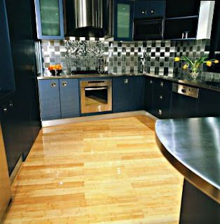 Bamboo Floors With Dark Cabinets
