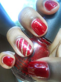 nail design with accent nail