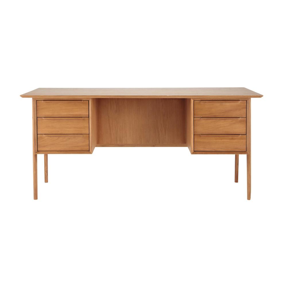 Bureau vintage en chêne massif | Solid oak, Desks and Sunroom