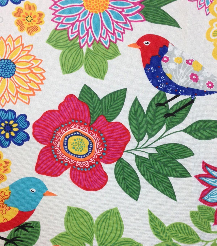 Outdoor Fabric Bird Veranda Jo Ann Fabric Decor Fabric Birds Outdoor Fabric