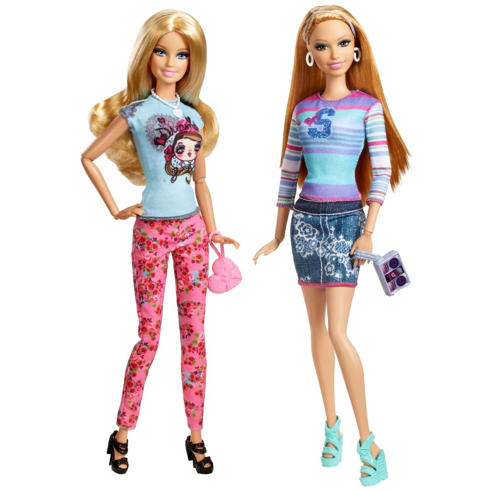 BARBIE™ Life in the Dreamhouse BARBIE® and SUMMER® 2-Pack Short 2014