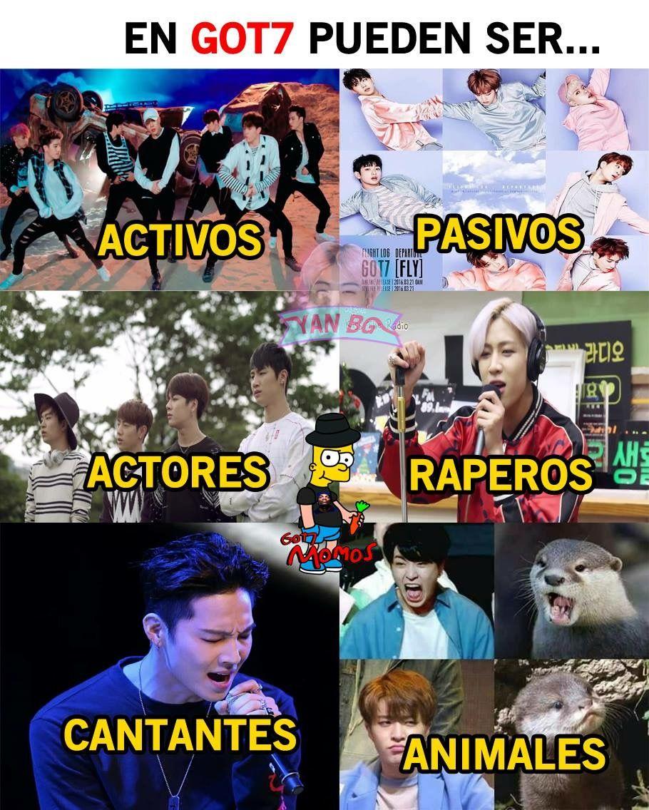 4yearswithgot7 Memes Coreanos Memes Memes Kpop