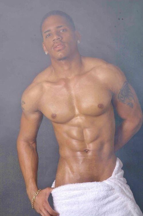 Black Men In Sauna