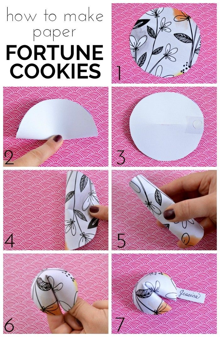 Chinese New Year Fortune Cookies Craft