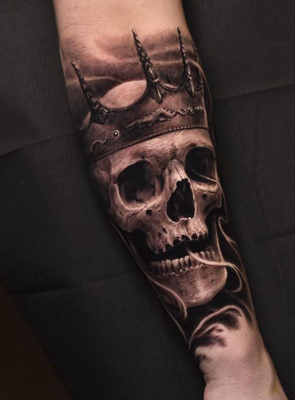 Photo of 58 perfekte Schädel-Tattoo-Designs, die Sie umhauen werden