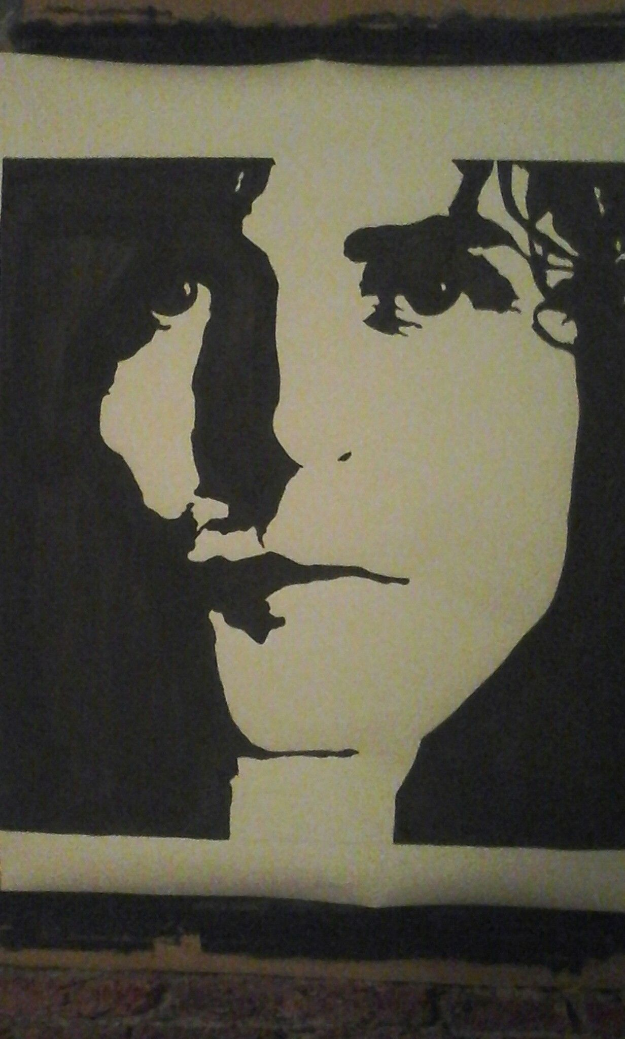 Marc Bolan / painting by Roy