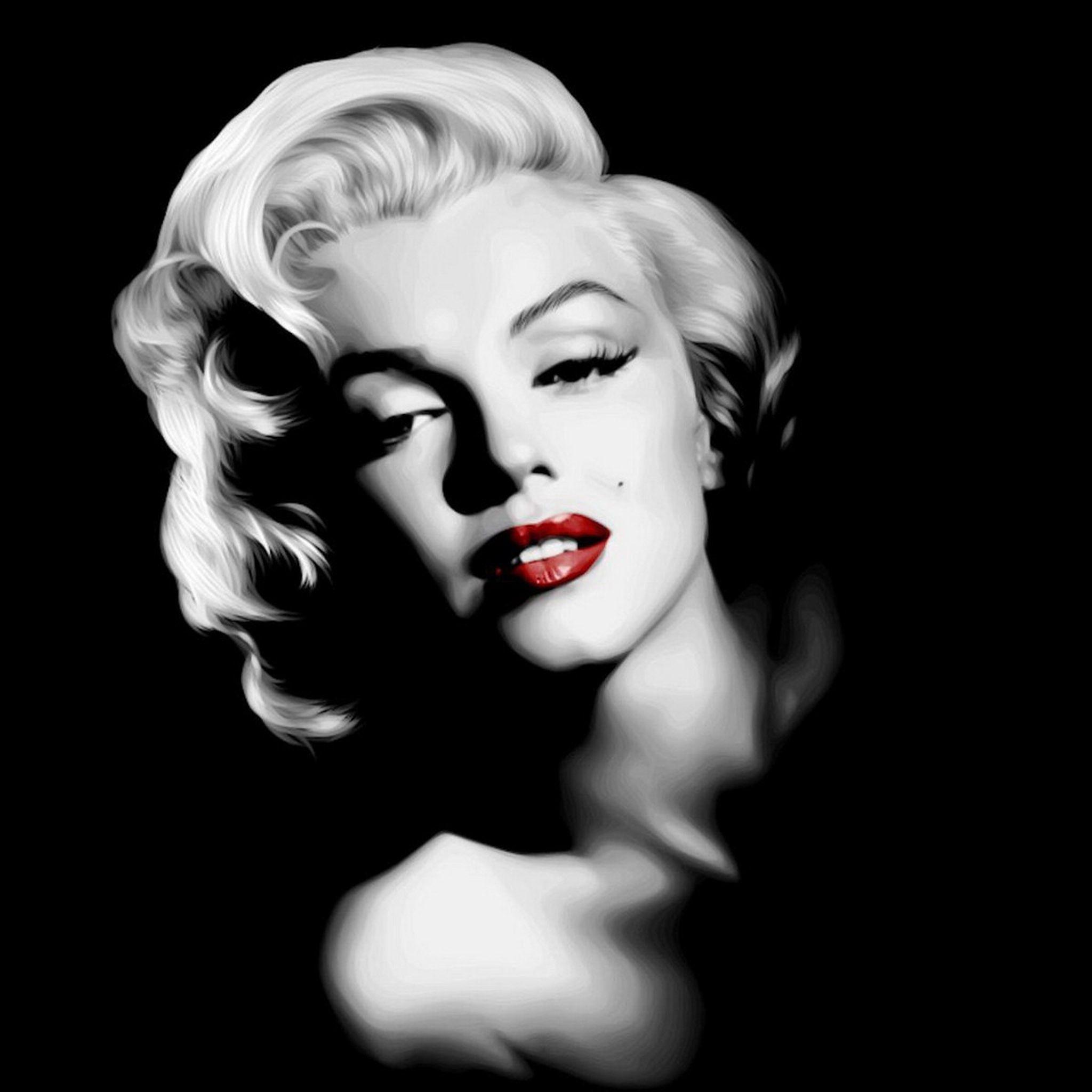 Marilyn Monroe Wallpaper Picture Wallpaper Celebrity 3797 Picthewall Portrait Marilyn Monroe Art Marilyn Monroe