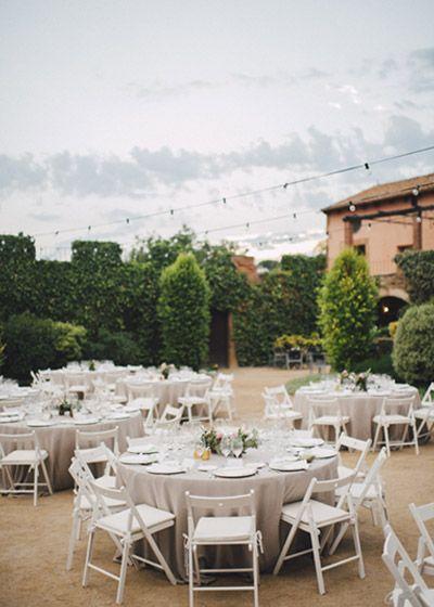 Masía en Barcelona. Boda al aire libre de Detallerie. Outdoors Wedding by Detallerie.