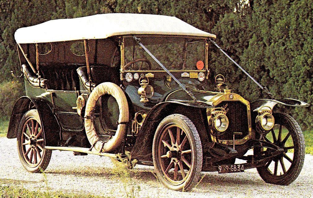 1914 De Dion-Bouton Maintenance/restoration of old/vintage vehicles ...