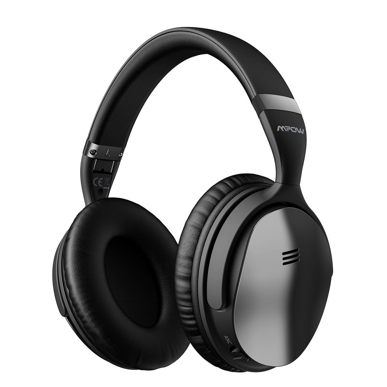 Mpow Foldable Headset Wireless Headphones Bluetooth Headset With Mic For Pc Cell Phones Tv Best Noise Cancelling Headphones Headphones Noise Cancelling Headphones