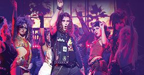 DAY SIX: Rock of Ages - slightly abbreviated from Broadway.