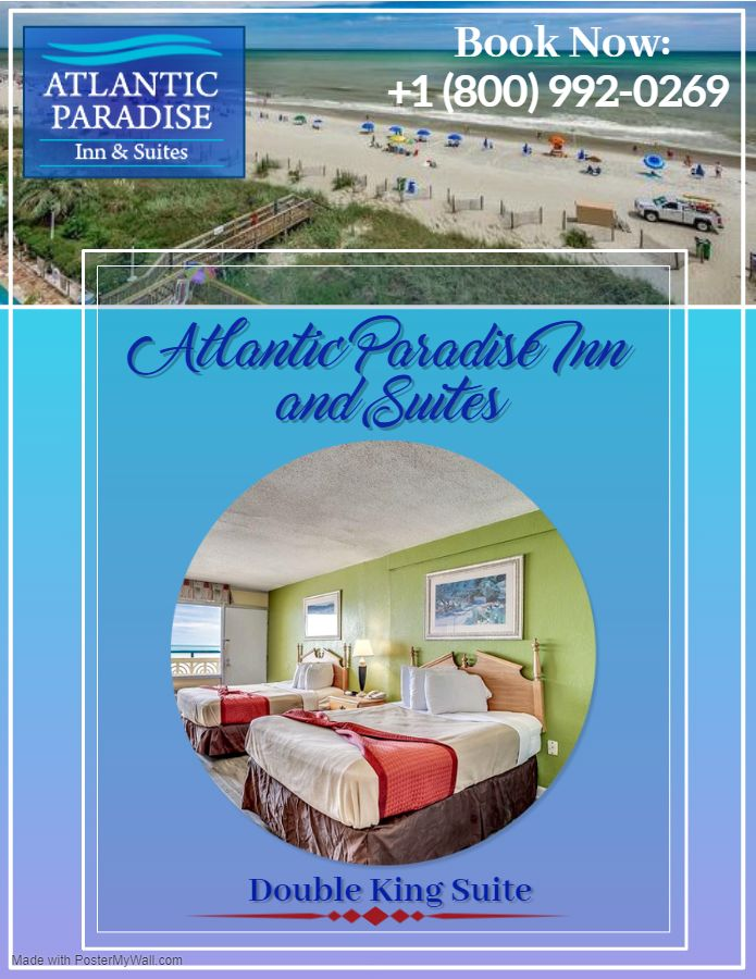 The perfect place for an all Family Trip👨👩👧👦🚌, or even a lone Friends traveller, does not ask for much in terms of expenses. This Atlantic Paradise Inn and Suites in Myrtle Beach, SC. Book Your Stay: +1 (800) 992-0269 #Hotels #Motel #Atlantic #Paradiseinn #Suites #Holidayspecial #Enjoyed #Luxury #Hotellife
