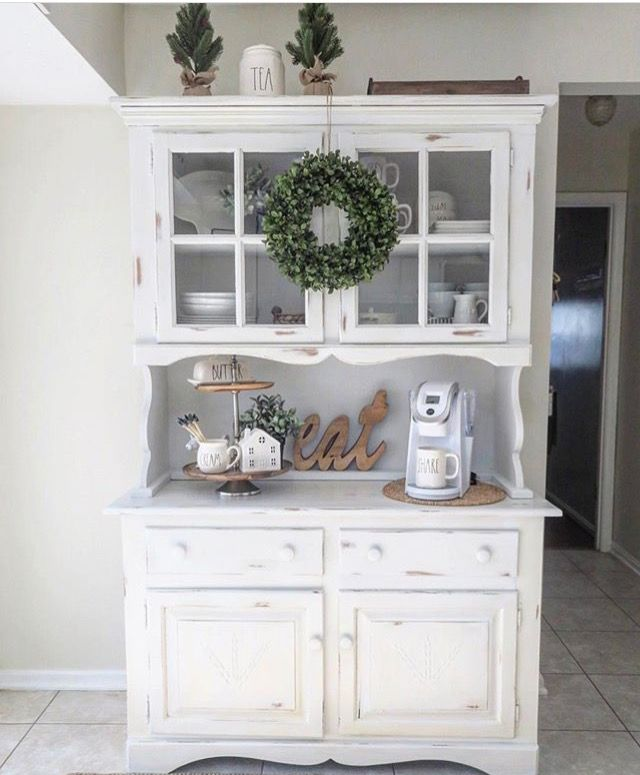 Wonderful Hutch Makeover