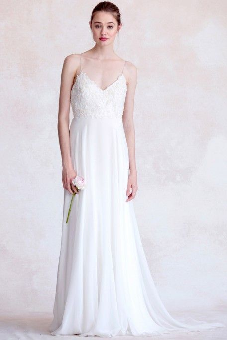 Fabulous Madison Gown by Jenny Yoo Available in Pearl