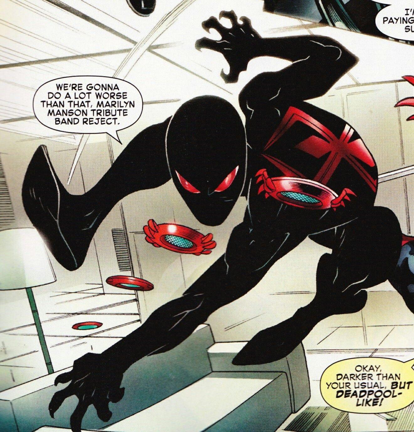 Spider-Man New Black Suit! Spider-Man/Deadpool #8 | Spider ...