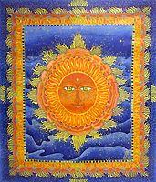 le soleil orange - Atelier de la Martinerie