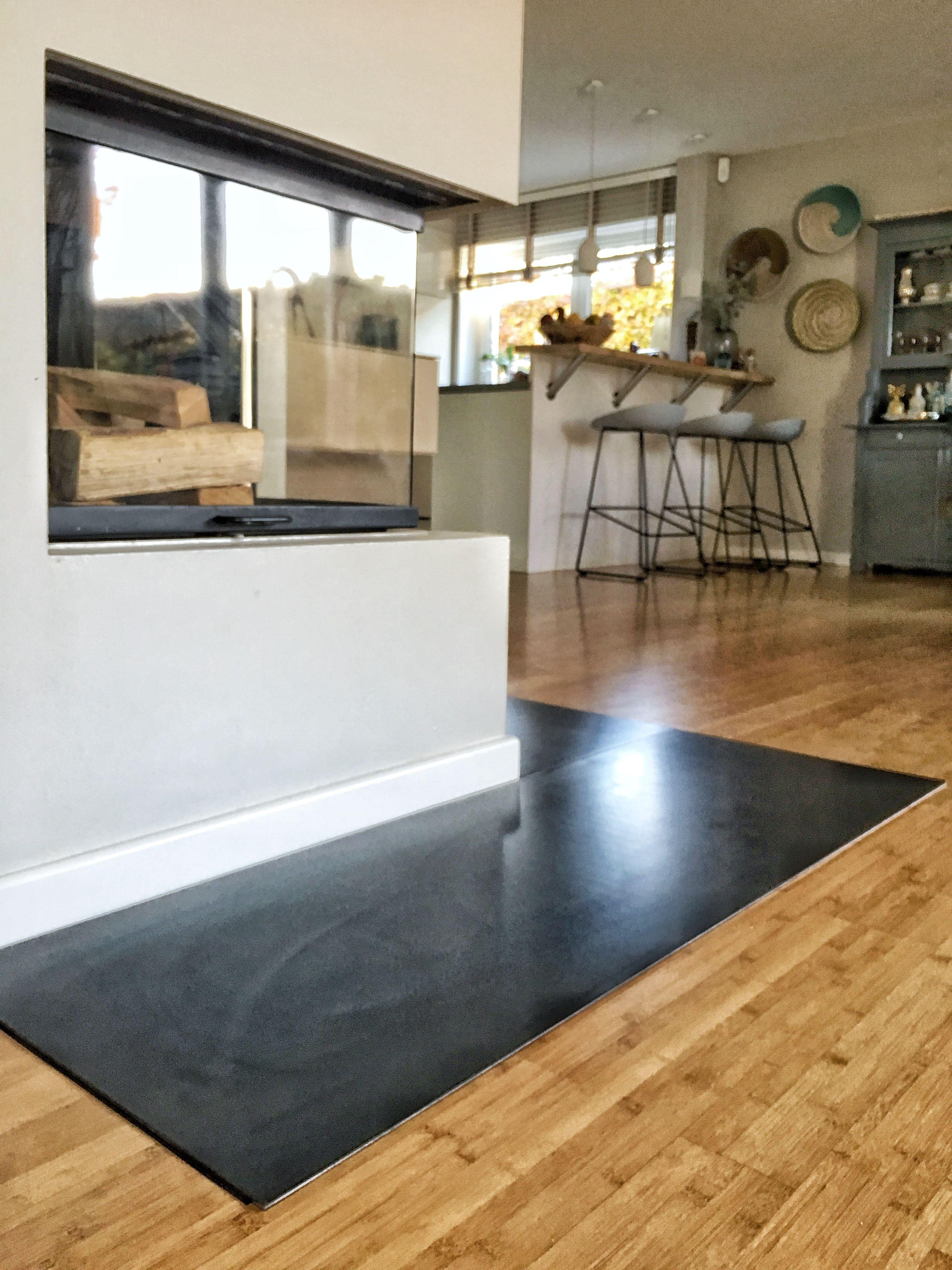 Funkenschutzplatte Aus Schwarzstahl Funkenschutzplatte Hausbau Tipps Wohnzimmerdesign