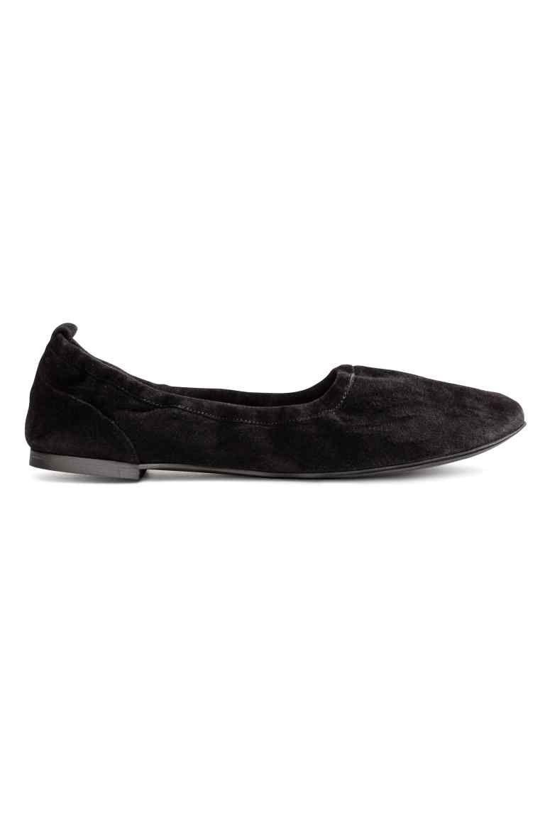 Soft ballet pumps - Black - Ladies | H&M GB 1
