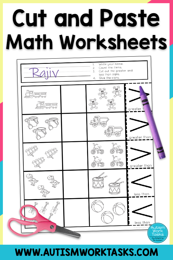 Pin On Special Education Math Activities And Ideas