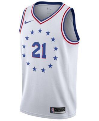 7c8b7d6954c Nike Joel Embiid Philadelphia 76ers Earned Edition Swingman Jersey ...