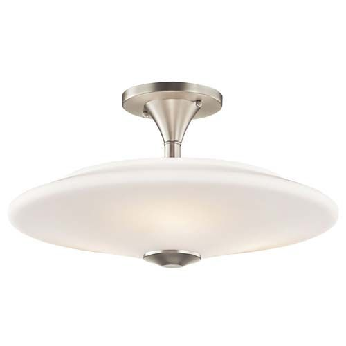 Kichler lighting 42079ni contemporary ceiling semi flush mounts contemporary ceiling semi flush