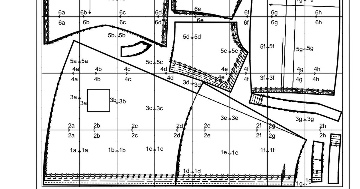 Vestido cóctel Burda tallas 34-44.pdf | Patrones de costura ...