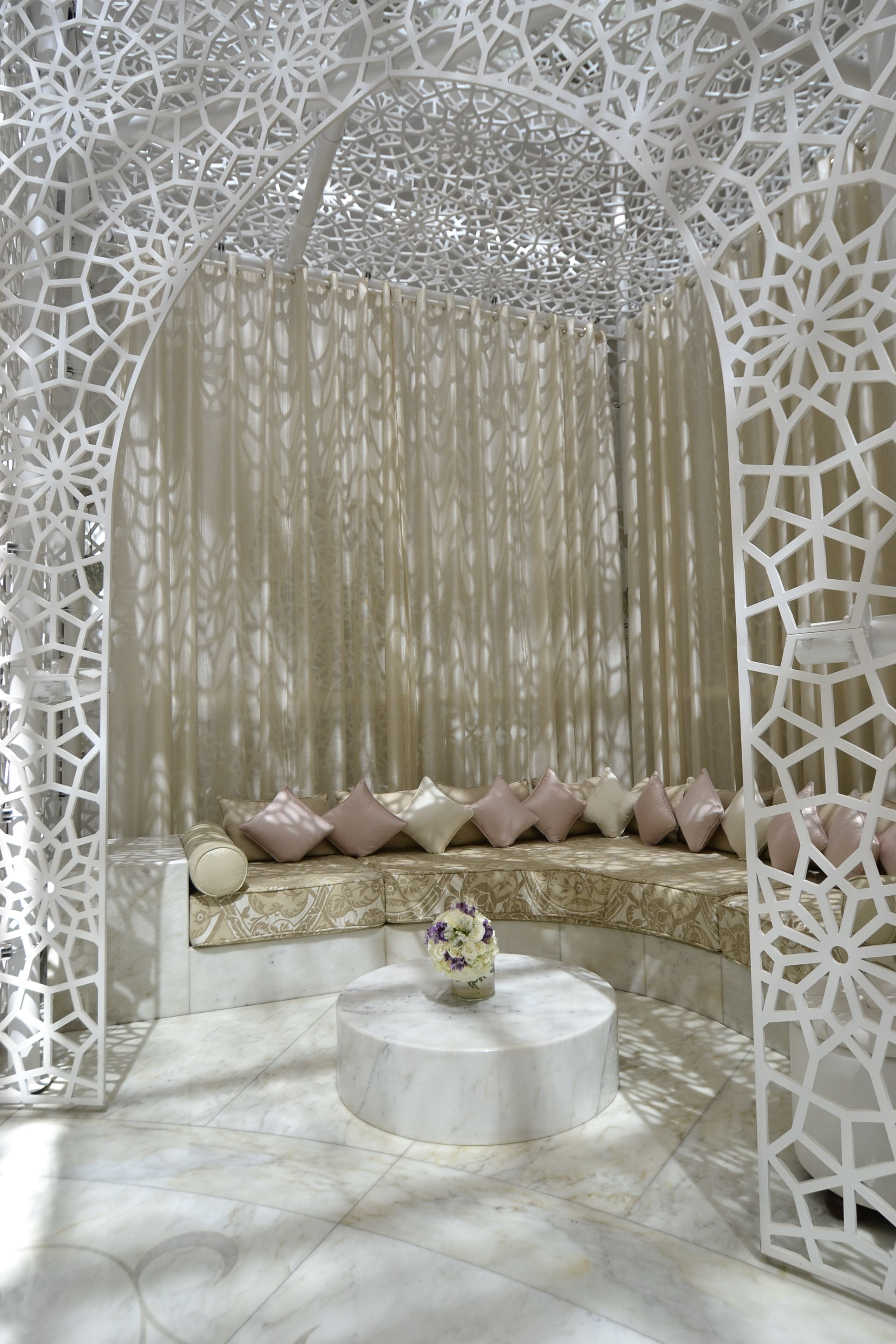 The Spa at Royal Mansour Marrakech, issue 7. design