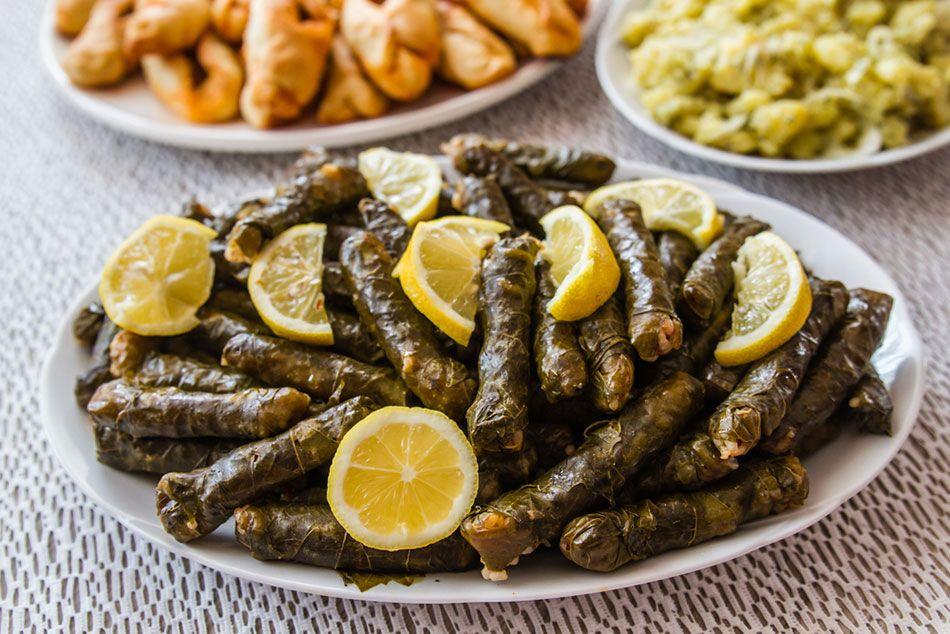 طريقة عمل ورق العنب السوري Recipe Recipes Syrian Food Turkish Recipes