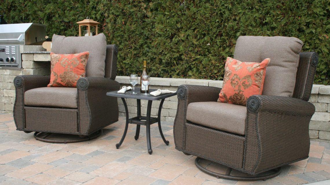 deep seating outdoor furniture | Cast aluminum patio ...