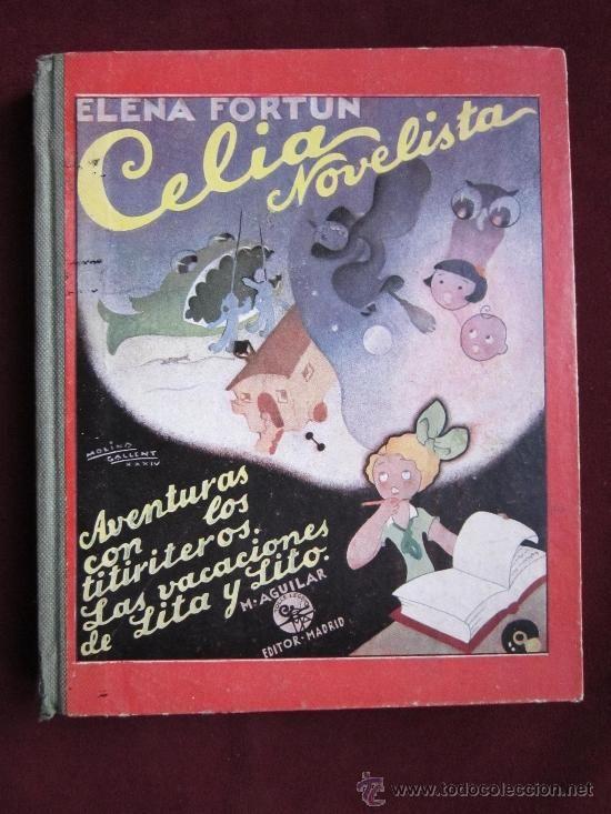 Celia novelista, Aventuras con los titiriteros. Las vacaciones de Lita y Lito, Elena Fortún