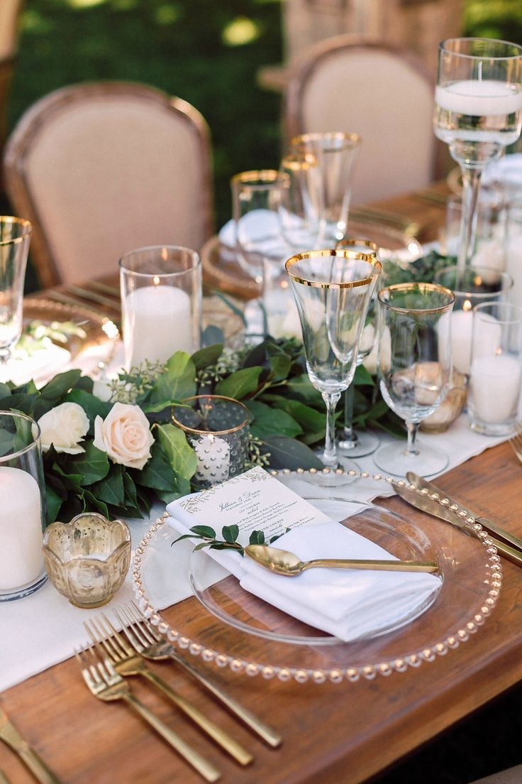 Natural Glam Celebrity Wedding in Santa Barbara