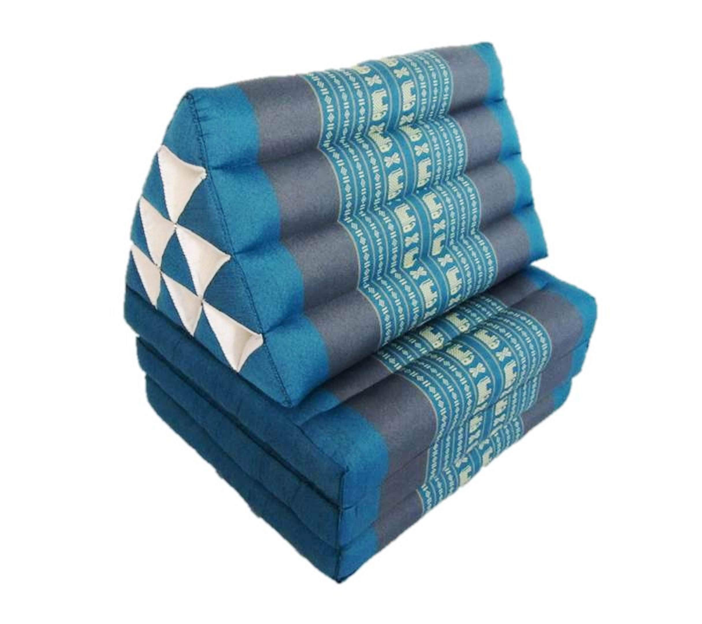 Thai Triangle Pillow Fold Out Mattress with Back Support