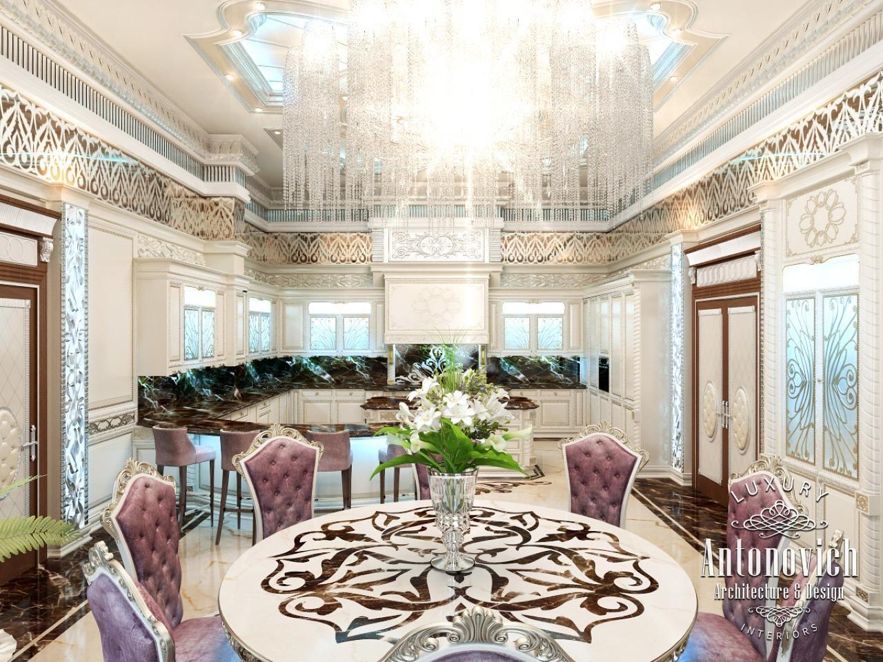 Kitchens dubai from antonovich design - Kitchen Design In Dubai Luxury Kitchen Abu Dhabi Photo 1