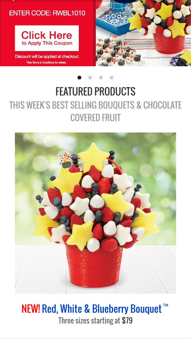 Edible Arrangement For Fourth Of July Edible Arrangements Chocolate Covered Fruit Cute Fruit