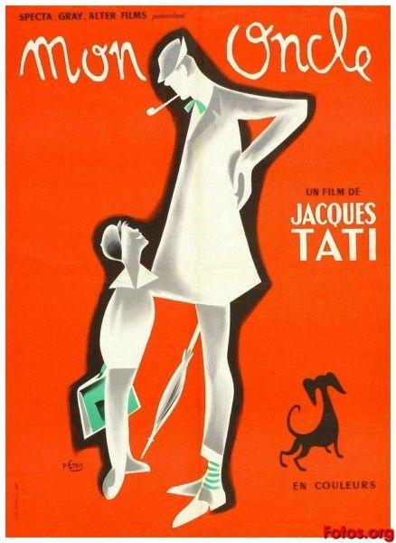 Mon Oncle Jacques Tati Carteles De Cine Cine Películas Vintage